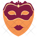 Festive Mask Mask Face Icon