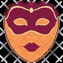 Festive mask Icon