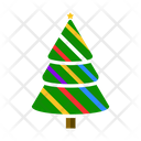 Festive Tree Christmas Tree Evergreen Tree Icon