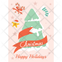 Christmas Tree Decorations Icon