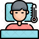 Sick Fever Temperature Icon