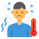Sick Fever Thermometure Icon