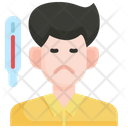 Fever Flu Virus Icon
