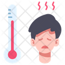 Fever Medical Patient Icon
