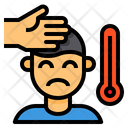 Sick Cold Temperature Icon