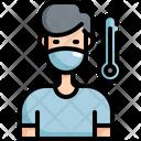 Sick Patient Medical Icon