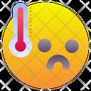 Fever High Temperatures High Icon