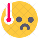 Fever High Temperatures High Icon