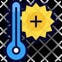 Checking Fever Temperature Icon