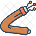 Fiber Cable Network Icon