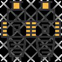 Fiber Optic Connector Icon