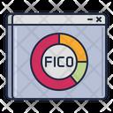 Fico Score Credit Score Speedometer Icon