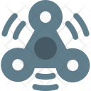 Hand Fidget Spinner Icon