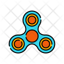 Fidget Spinner Relax Icon