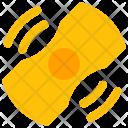 Hand Fidget Spinner Icon