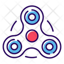 Fidget Spinner Spinner Toy Bar Spinner Icon