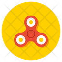 Fidget Spinner Toy Gadget Icon