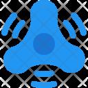 Fidget spinner Icon