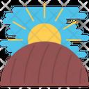 Field Earth Sun Icon