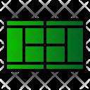 Field Tennis Sport Icon