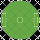Field Soccer Ground Icon