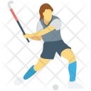 Field Hockey Player Icon