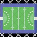 Field Hockey Ground Ground Icon