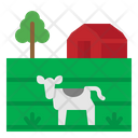 Field Farm Barn Icon