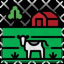 Field Farm Barn Icon