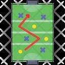 Field Hockey Strategy Hockey Strategy Plan Icon