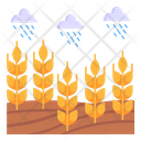 Fields Rain Icon