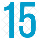 Fifteen Numbers Icon