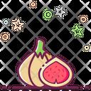 Fig Carica Organic Food Icon