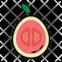 Fig Slice Fruit Icon