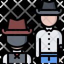 Fight Duel Revolver Icon