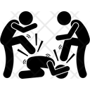 Fight in jail Icon