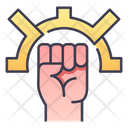 Rpg Fighter Monk Icon