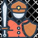 Fighter Warrior Trooper Icon