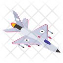 Fighter Aircraft Icon