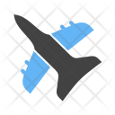 Fighter Plane Jet Icon