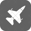 Jet Fighter Plane Icon