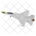 Fighter Jet Aircraft Airplane Icon