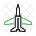 Fighter Jet Plane Icon