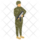 Fighting Soldier Icon