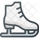 Figure Skate Fittness Icon