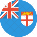 Fiji Flag Country Icon