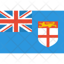 Fiji Flag World Icon
