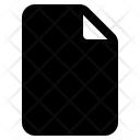 File Blank Create Icon