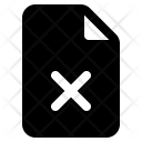 File Broken Delete Icon