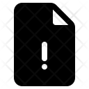 File Alert Broken Icon